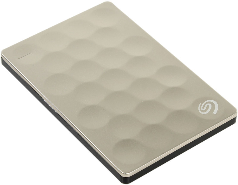 Жесткий диск Seagate Backup Plus Ultra Slim 1Tb Gold STEH1000201