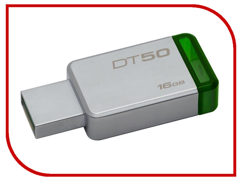 USB Flash Drive 16Gb - Kingston DataTraveler 50 USB 3.1 DT50/16GB