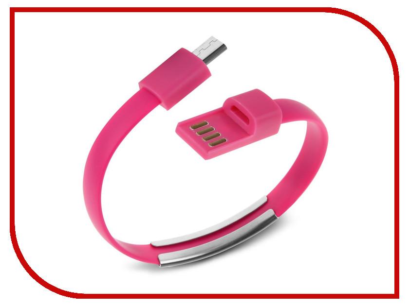 Аксессуар IQ Format Bracelet micro USB Pink
