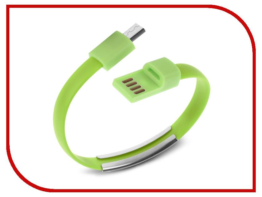 Аксессуар IQ Format Bracelet micro USB Green<br>
