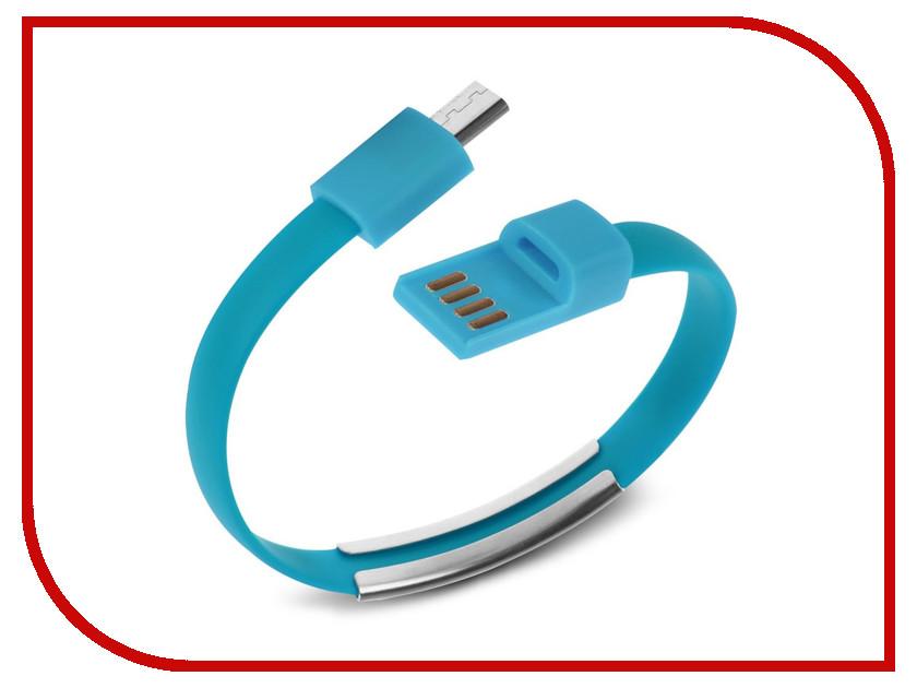 Аксессуар IQ Format Bracelet micro USB Blue<br>