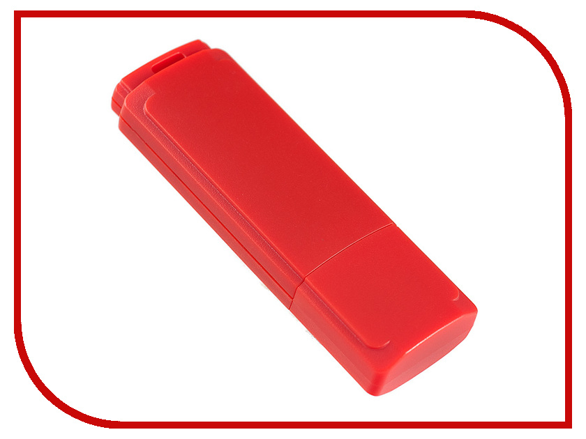 USB Flash Drive 4Gb - Perfeo C04 Red PF-C04R004<br>