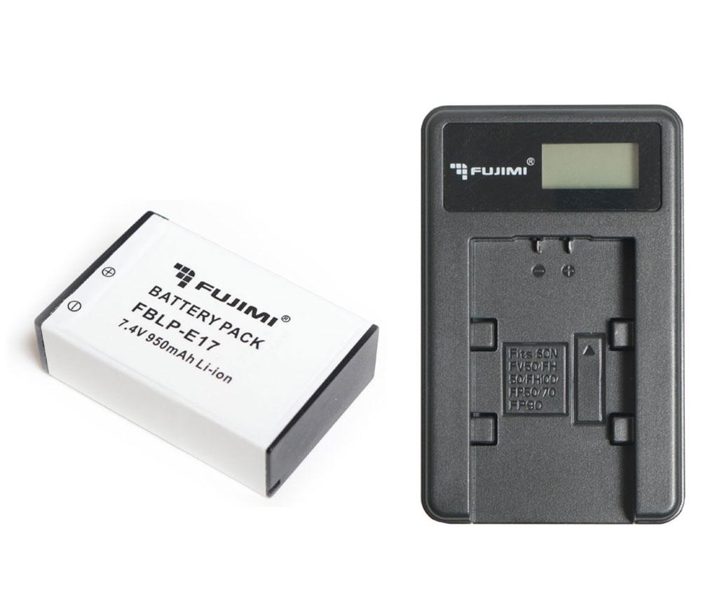 Аккумулятор Fujimi FBLP-E17 + зарядное устройство FC-LPE17 1362