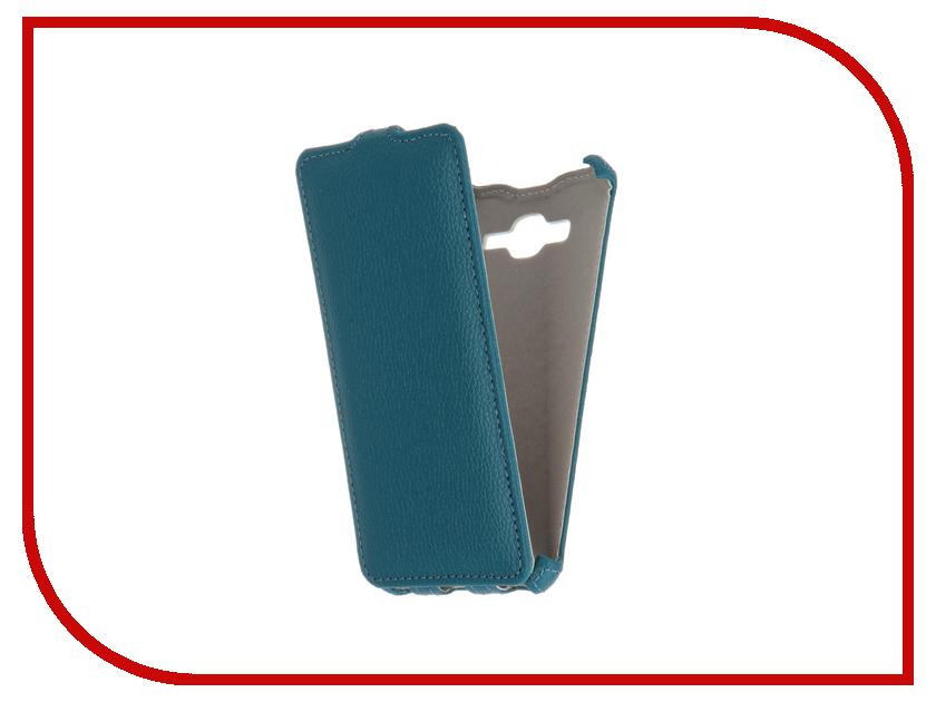 Аксессуар Чехол Samsung SM-G530H Galaxy Grand Prime Zibelino Classico Turquoise ZCL-SAM-G530-TQS<br>
