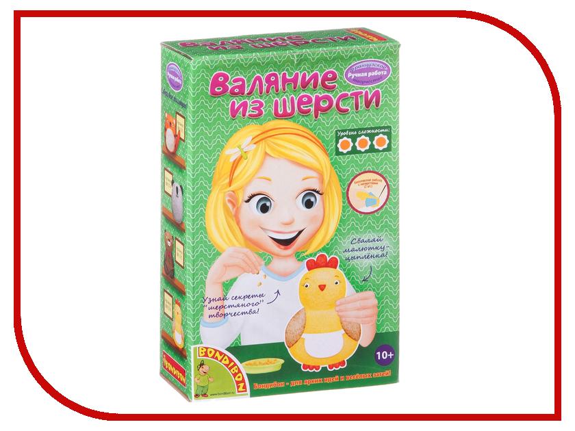 Набор Bondibon Валяние из шерсти. Цыпленок BB1576