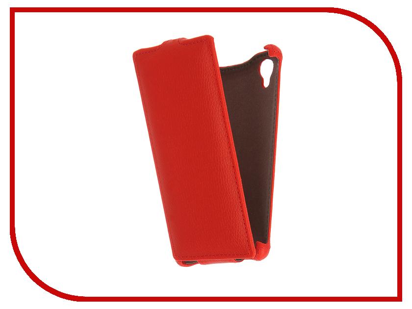 Аксессуар Чехол Tele2 Midi Zibelino Classico Red ZCL-TL2-MIDI-RED<br>