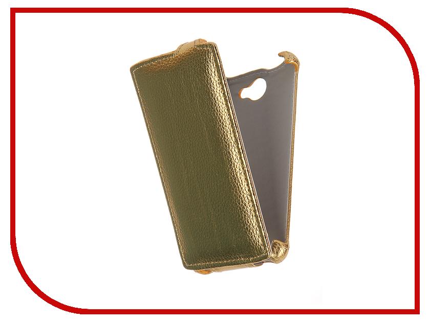 Аксессуар Чехол Tele2 Mini Zibelino Classico Gold ZCL-TL2-MINI-GLD<br>