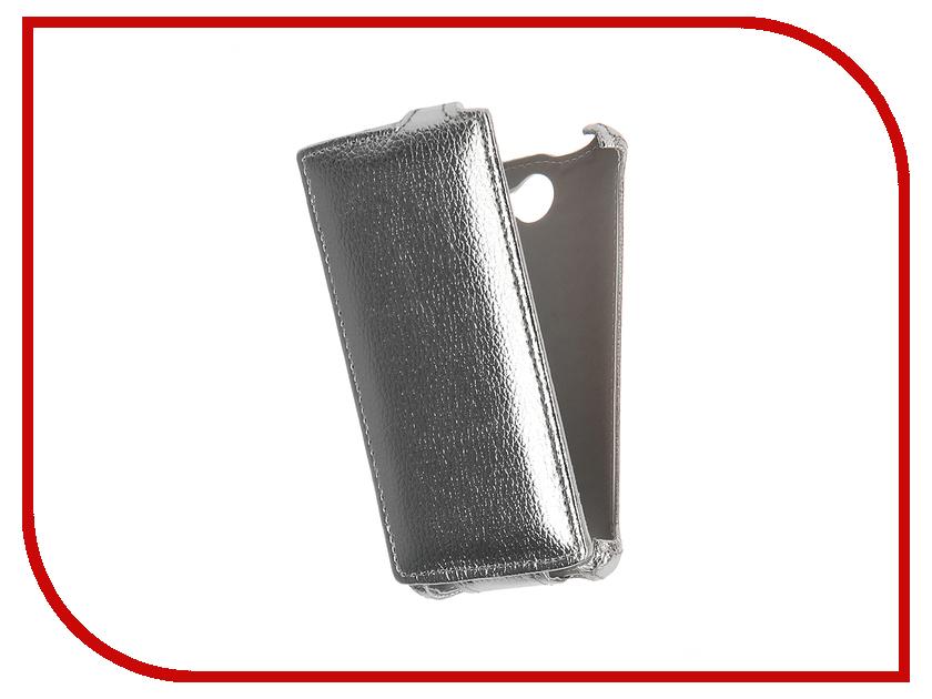Аксессуар Чехол Tele2 Mini Zibelino Classico Silver ZCL-TL2-MINI-SLV<br>