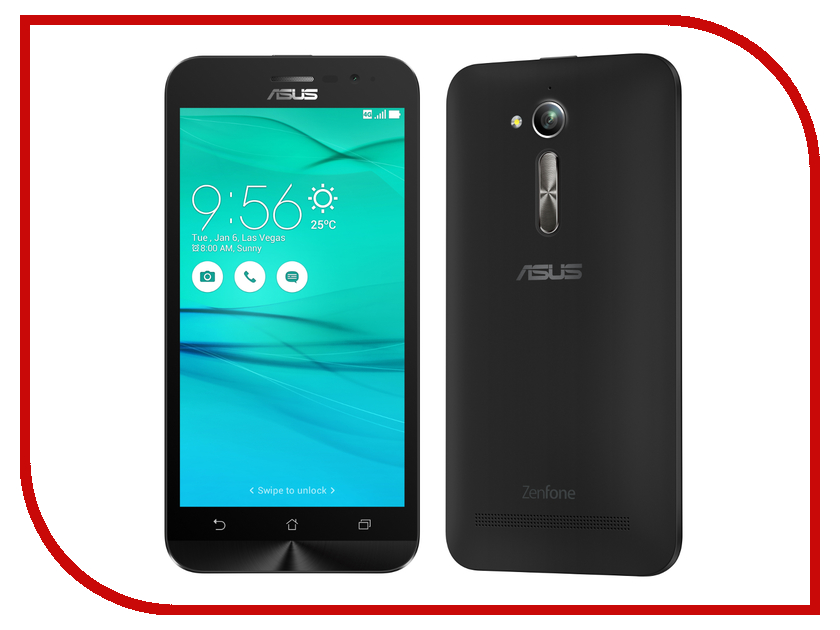 Сотовый телефон ASUS ZenFone Go ZB500KL 16Gb Black
