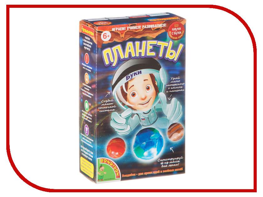 Игра Bondibon Науки с Буки Планеты BB1837 игра bondibon науки с буки фабрика мороженого 1190