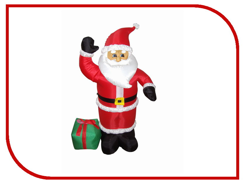 Фигура Neon-Night Дед Мороз с подарком 120cm 511-054