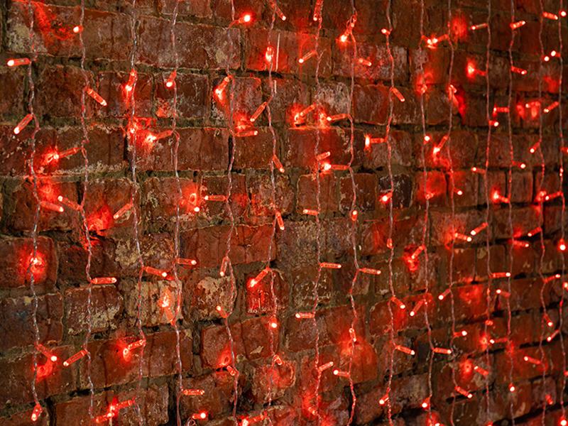 Гирлянда Neon-Night Светодиодный Дождь Red 235-302-6