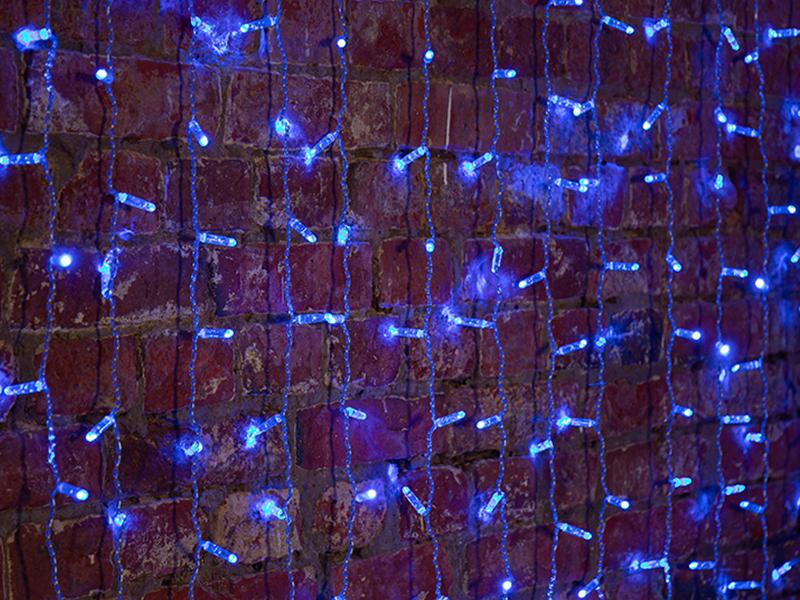 Гирлянда Neon-Night Светодиодный Дождь Blue 235-303-6