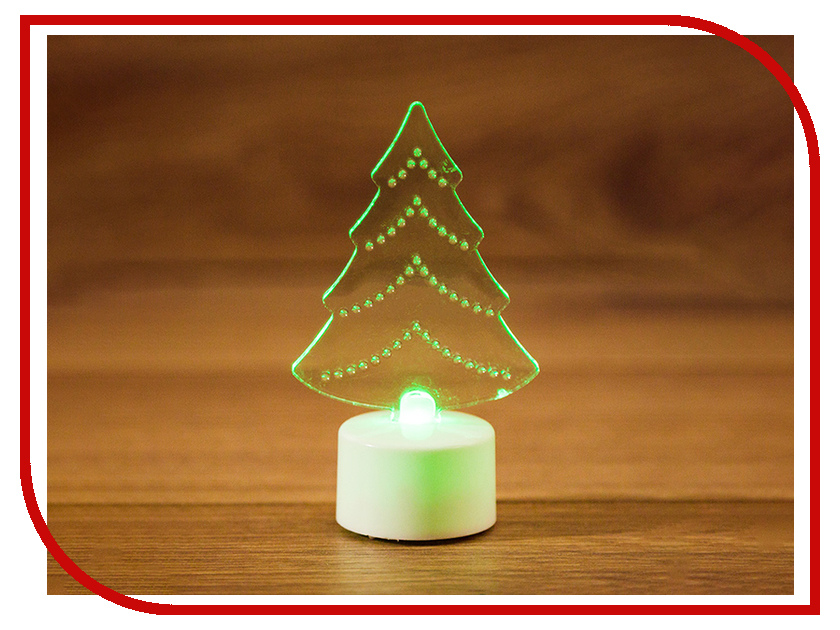 Новогодний сувенир Neon-Night Елочка 2D 501-045<br>