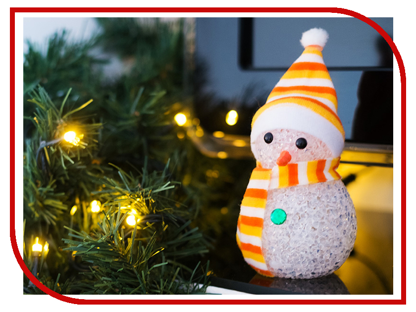 Новогодний сувенир Neon-Night Снеговик 513-019