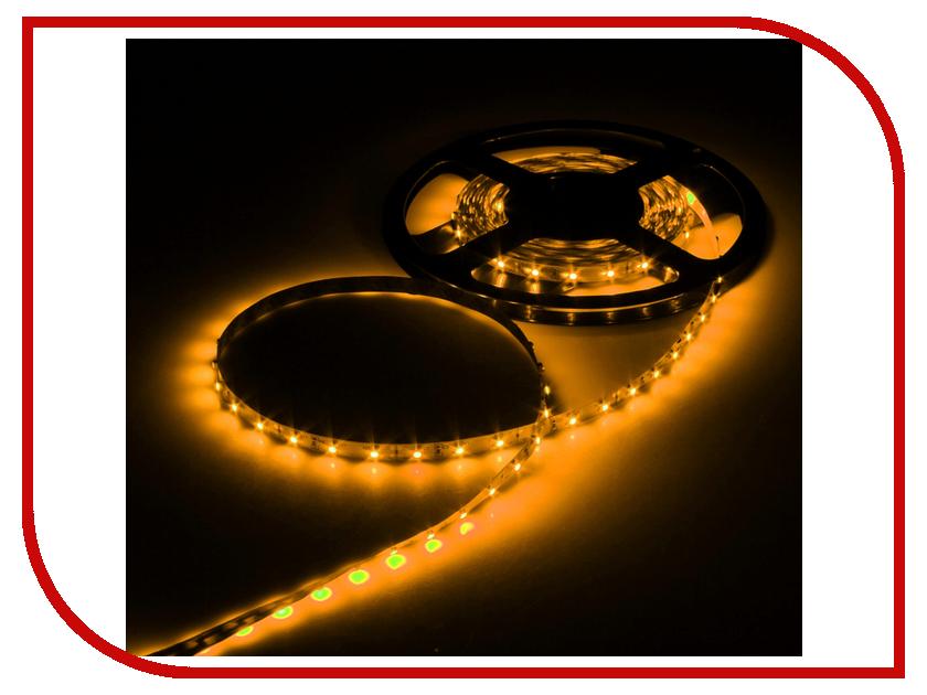 Светодиодная лента Luazon SMD3528 5m IP33 60LED 4.8W LED DC Yellow 883871