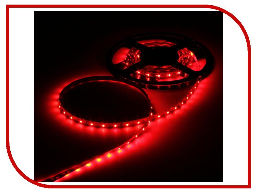 Светодиодная лента Luazon SMD3528 5m IP33 60LED 4.8W LED DC Red 883870<br>