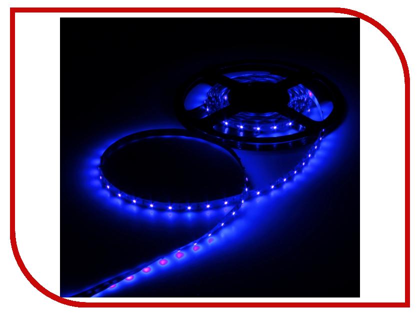 Светодиодная лента Luazon SMD3528 5m IP33 60LED 4.8W LED DC Blue 883872