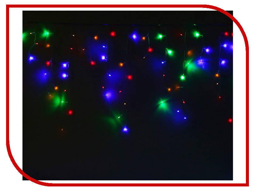 Гирлянда Luazon Бахрома 5.2m x 0.6m LED-299-220V 1080419 гирлянда luazon дождь 2m 6m multicolor 671678