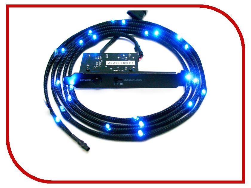 Аксессуар NZXT Sleeved LED Kit 2m Blue CB-LED20-BU<br>