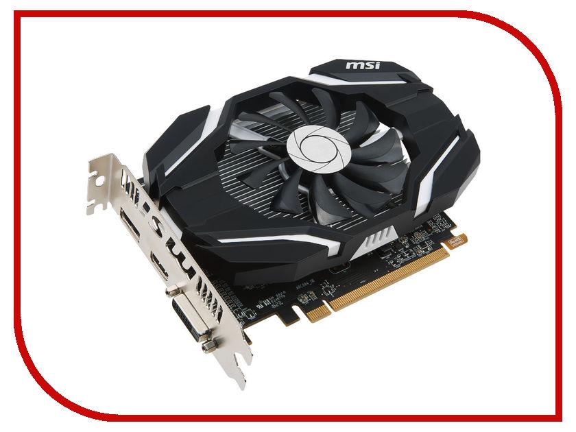 Видеокарта MSI Radeon RX 460 1210Mhz PCI-E 3.0 4096Mb 7000Mhz 128 bit DVI HDMI HDCP RX 460 4G OC