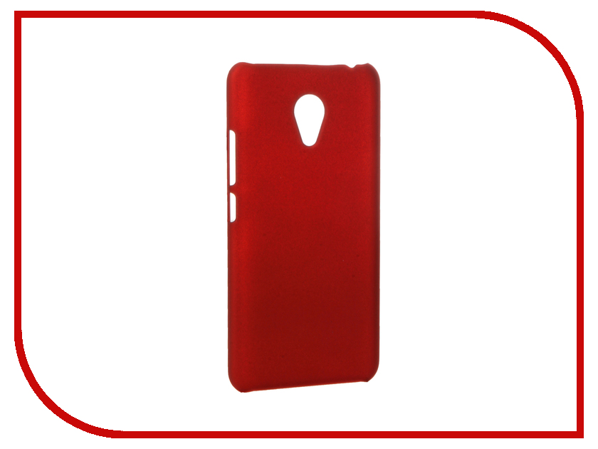 Аксессуар Чехол Meizu M3S Mini Apres Hard Red<br>