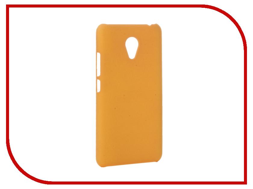 Аксессуар Чехол Meizu M3S Mini Apres Hard Yellow<br>