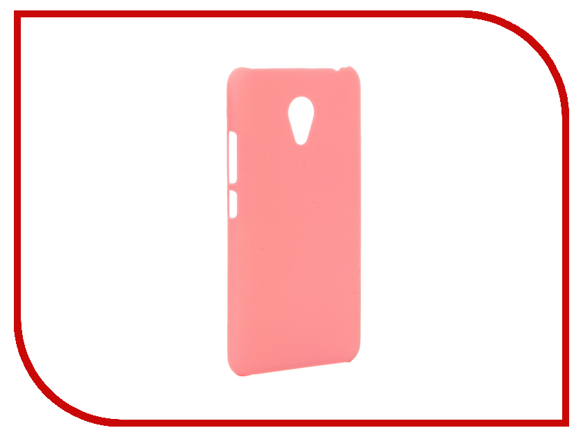 Аксессуар Чехол Meizu M3S Mini Apres Hard Pink<br>
