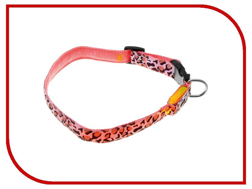 Ошейник светодиодный V.I.Pet Леопард 50-60cm 14-3100XL<br>