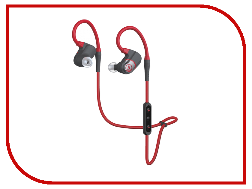 Гарнитура Audio-Technica ATH-SPORT4 Red<br>