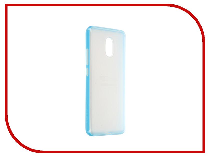 Аксессуар Чехол Meizu M3 Note Soft Case Blue