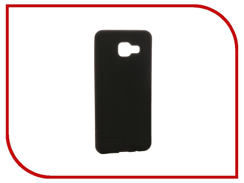 Аксессуар Чехол Samsung Galaxy A3 (2016) Apres Soft Case Black<br>