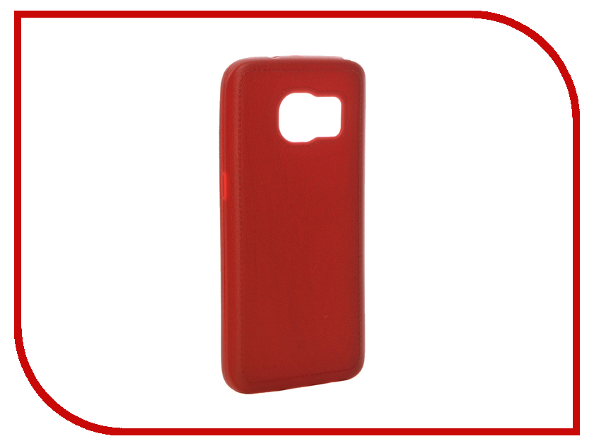 Аксессуар Чехол Samsung Galaxy S7 Apres Soft Case Red<br>