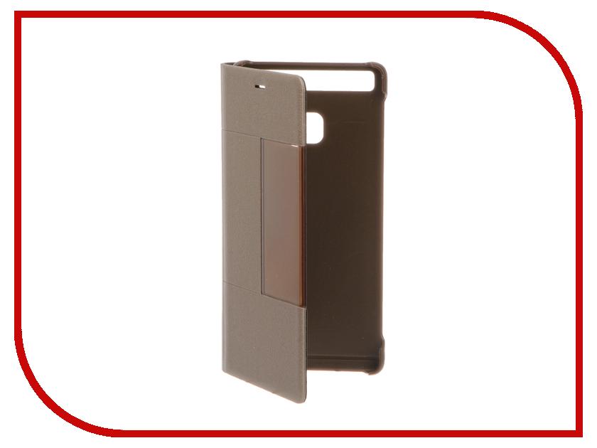 Аксессуар Чехол Huawei P9 Flip Smart Cover Brown<br>
