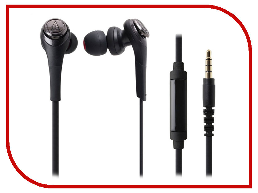 Гарнитура Audio-Technica ATH-CKS550iS BK<br>