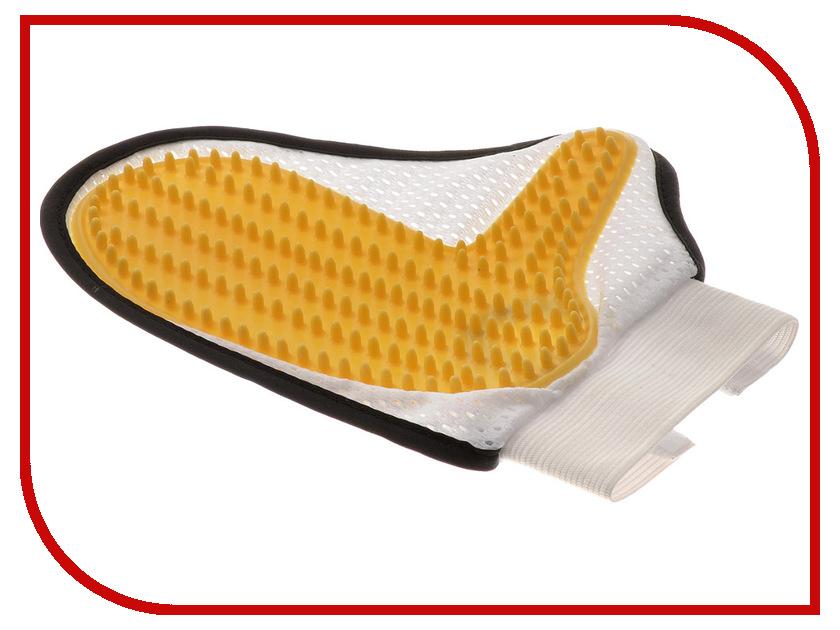 Расческа для животных V.I.Pet Рукавица с шипами + сетка 3005<br>