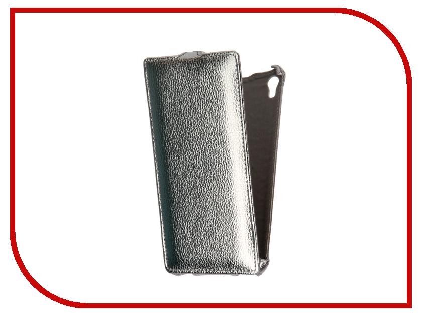 Аксессуар Чехол-флип Sony Xperia XA Ultra F3216 Gecko Silver GG-F-SONXAU-SIL<br>