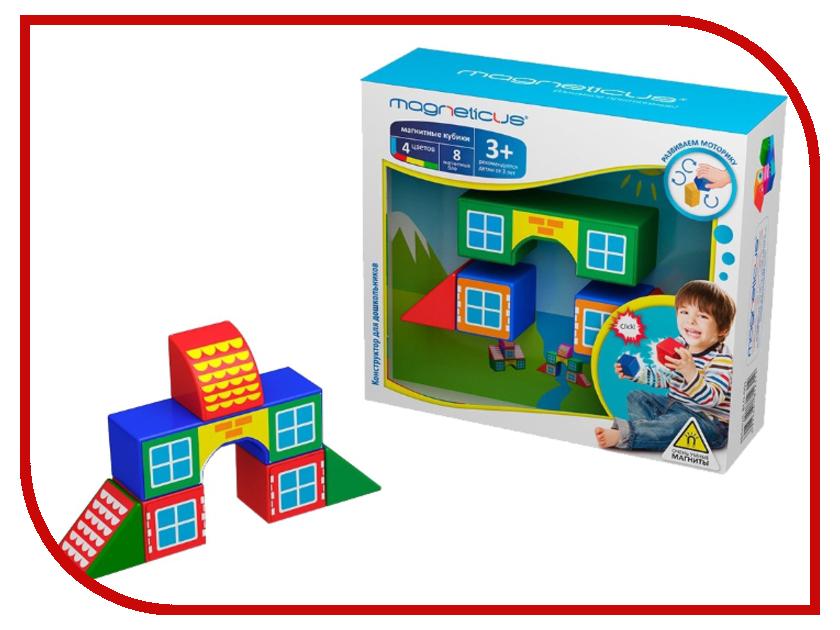 Игрушка Magneticus Кубики - домики BLO-001-3<br>
