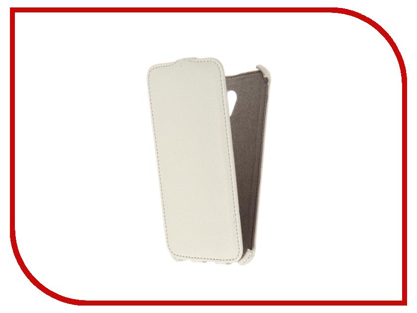 Аксессуар Чехол Meizu MX6 Activ Flip Case Leather White 61614