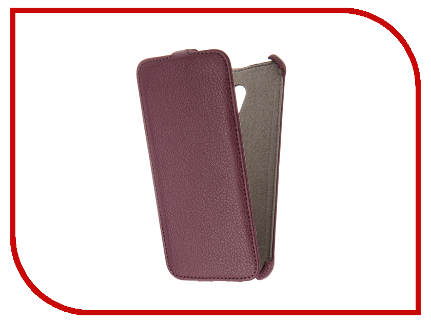 Аксессуар Чехол Meizu MX6 Activ Flip Case Leather Violet 61615<br>