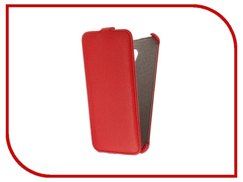 Аксессуар Чехол Meizu MX6 Activ Flip Case Leather Red 61613