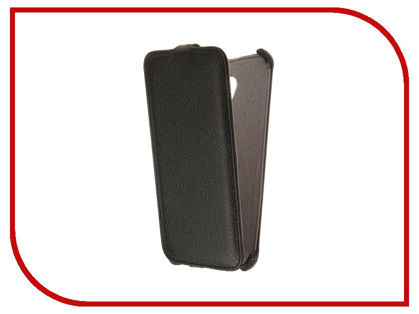 Аксессуар Чехол Meizu MX6 Activ Flip Case Leather Black 61612