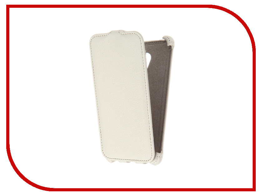 Аксессуар Чехол Meizu M3s mini Activ Flip Case Leather White 61617