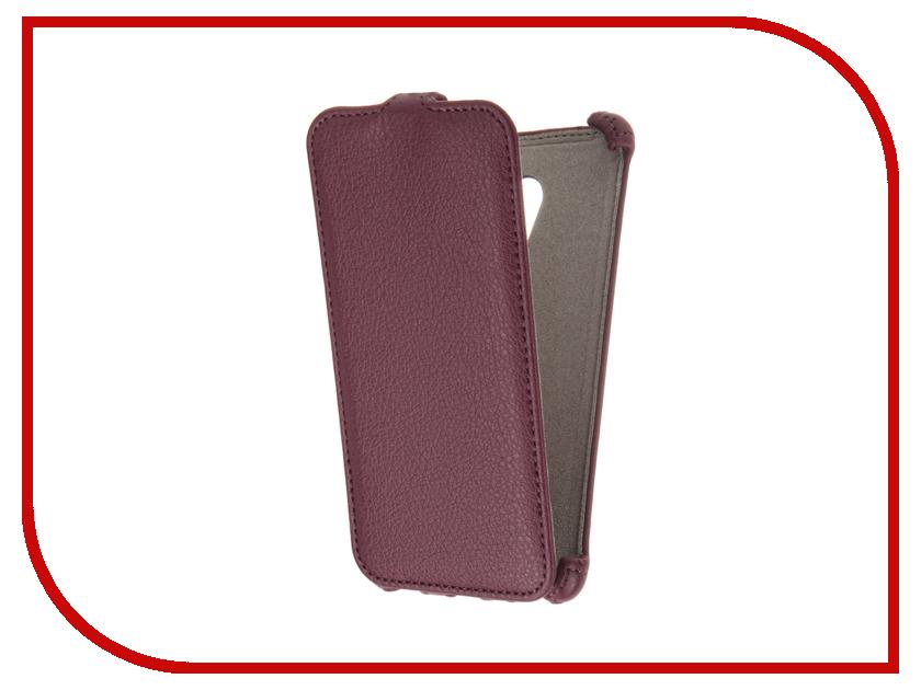 Аксессуар Чехол Meizu M3s mini Activ Flip Case Leather Violet 61618