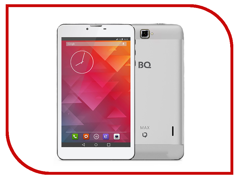 Планшет BQ BQ-7010G MAX 3G Silver (Spreadtrum SC7730 1.2 GHz/512Mb/8Gb/Wi-Fi/Cam/7.0/1280x800/Android)