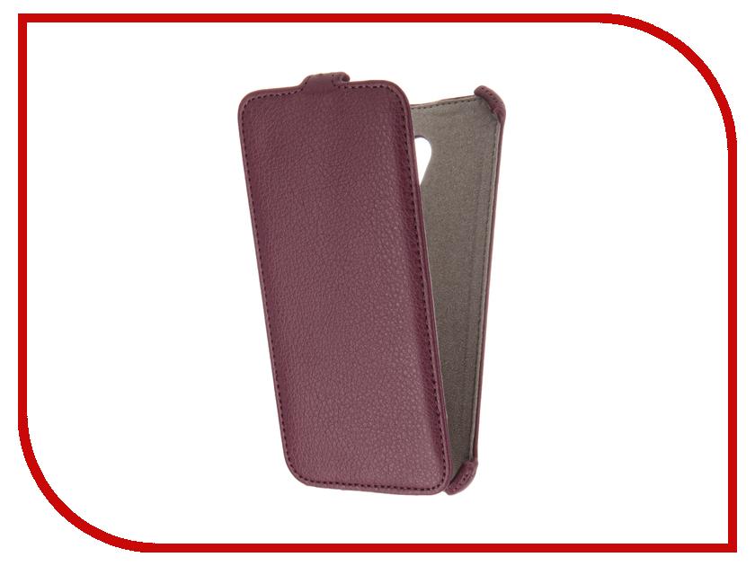 Аксессуар Чехол Meizu M3E Activ Flip Case Leather Violet 61611