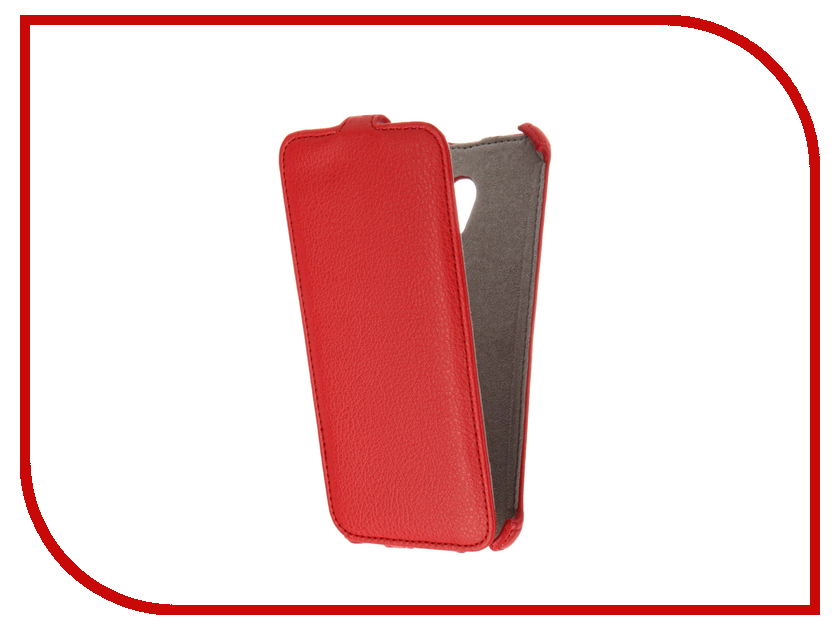 Аксессуар Чехол Meizu M3E Activ Flip Case Leather Red 61609<br>