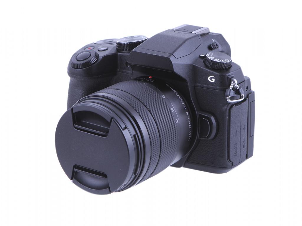Фотоаппарат Panasonic Lumix DMC-G80 Kit 12-60mm f/3.5-5.6 ASPH жк телевизор panasonic led телевизор 65 tx 65gxr900