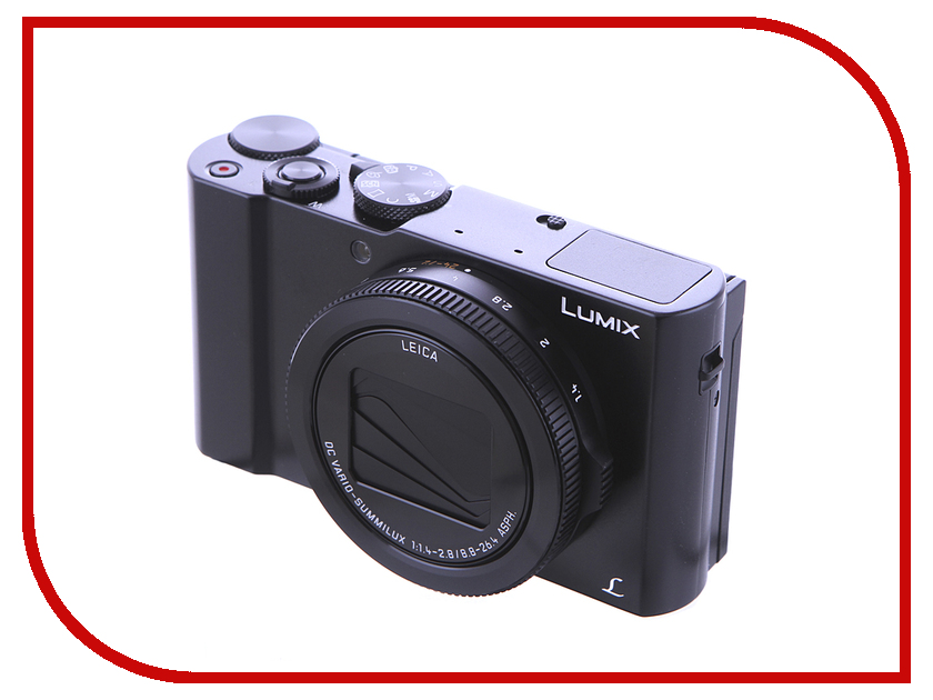 Фотоаппарат Panasonic DMC-LX15 Lumix фотоаппарат panasonic lumix dmc ft30 черный