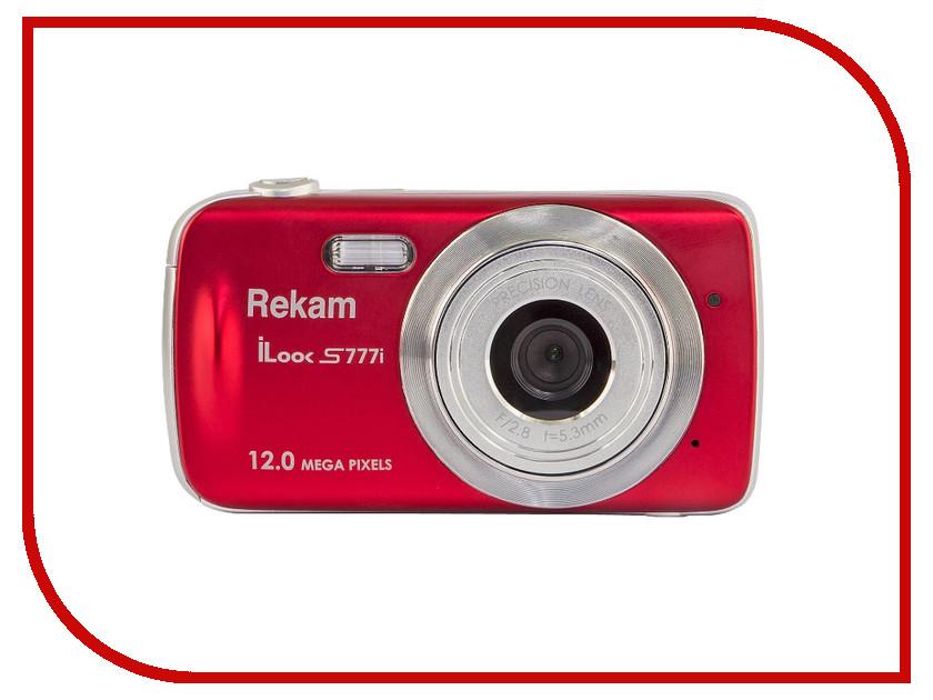 Фотоаппарат Rekam iLook S777i Red цифровая фотокамера rekam ilook s777i красный 1108005124